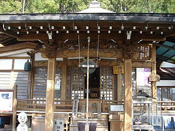 11番常楽寺の本堂