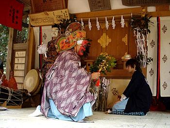 琴平神社の神楽