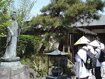 9番明智寺で参拝