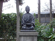 吉田松陰先生の像
