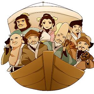 ココテン七福神、今 船出します。